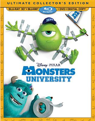 MONSTERS UNIVERSITY 3D BY CRYSTAL,BILLY (Blu-Ray)